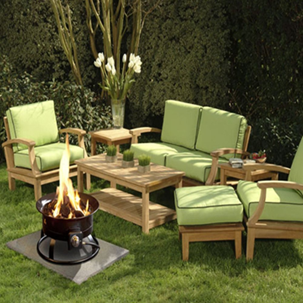 Portable Fire Pits For Patios : Smokeless btu propane fire pit portable for outdoor