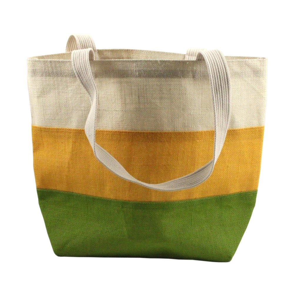 Eco-friendly Jute Burlap Large Beach Shopping Tote Bag
