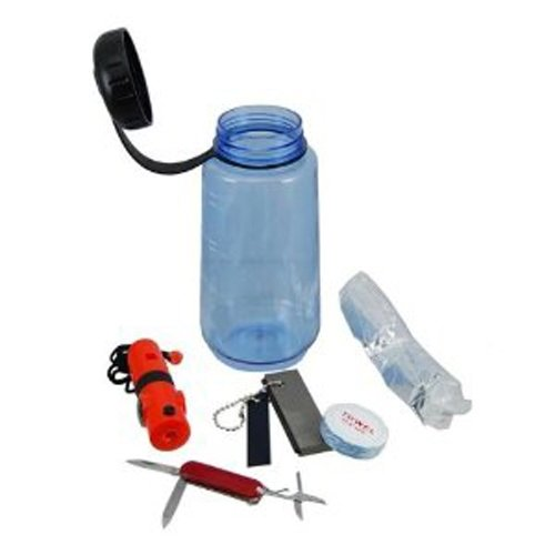 16pc Survival Outdoor Emergency Camping Hiking Combo Kit