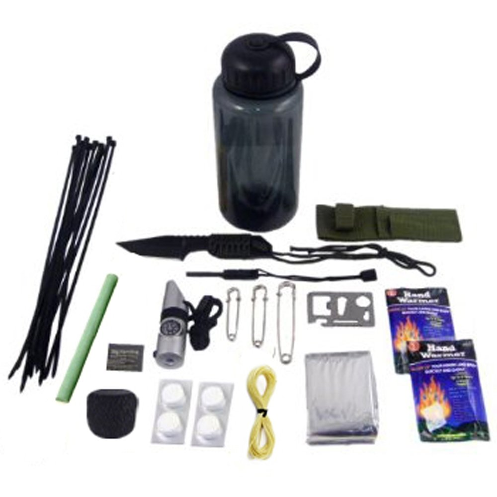 30 in 1 Ultimate Outdoor Emergency Survival Kit