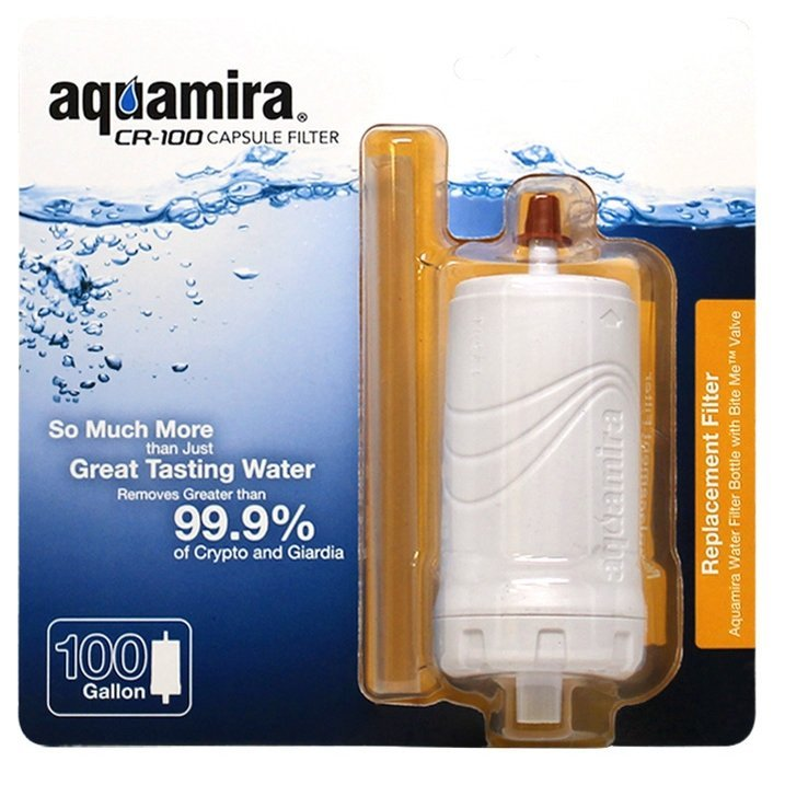 Aquamira CR100 Replacement Filter for Aquamira Water Filter Bottle