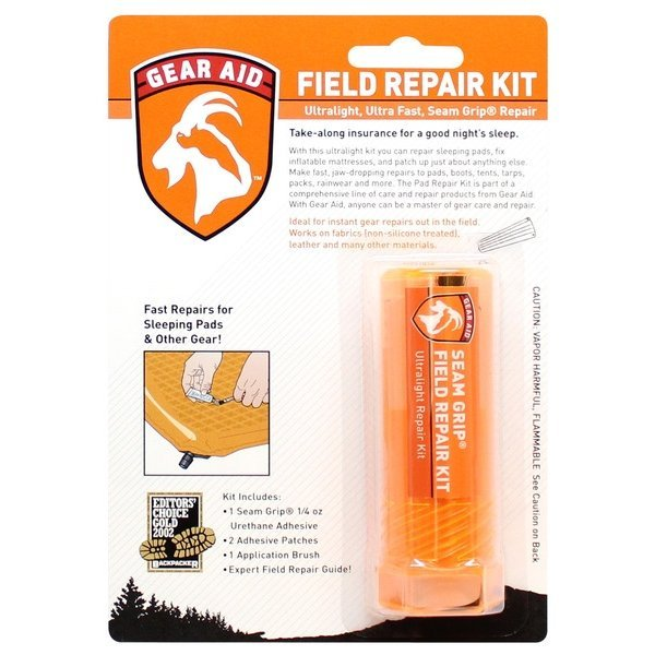 Seam Grip Field Repar Kit Packaging