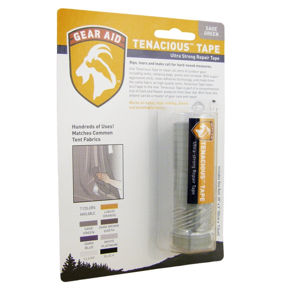 Gear Aid Tenacious Repair Tape - Sage Green