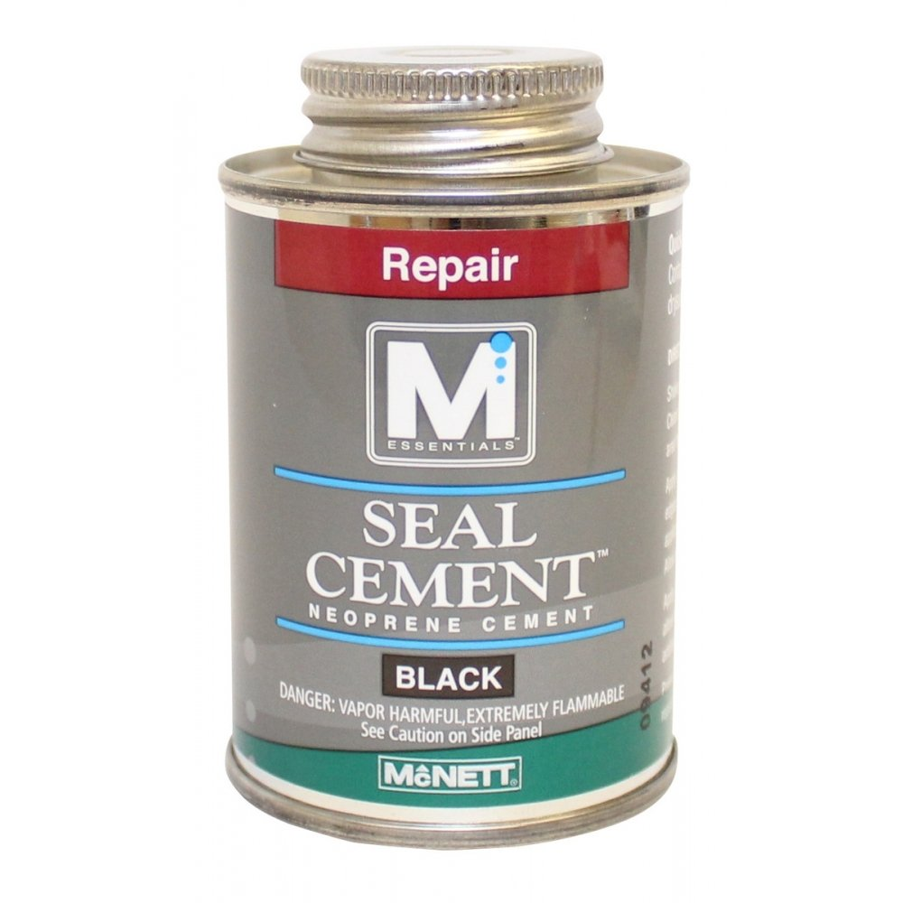 McNett M Essentials Seal Cement 4oz Neoprene Cement - Black