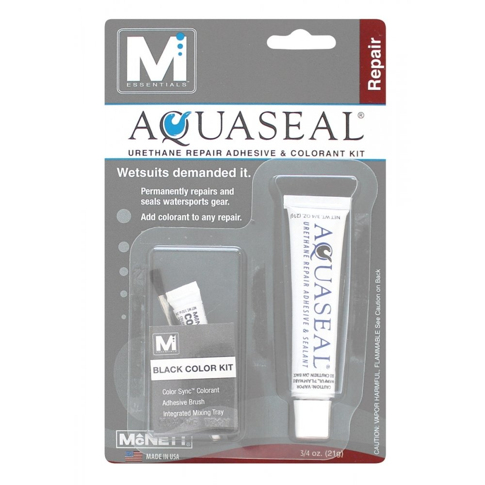 Aquaseal .75oz Black Colorant Kit Gear Repair Adhesive