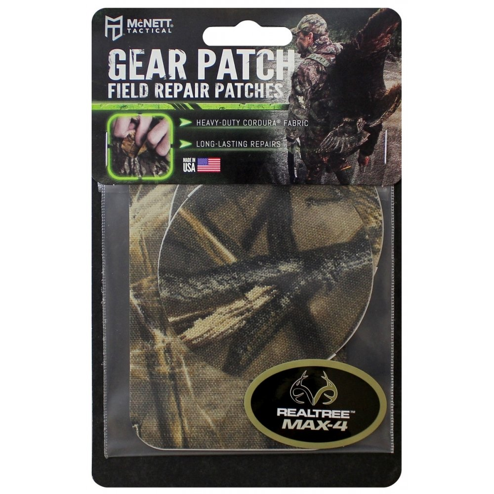 Real Tree Max 4 Flexible Camoflauge Gear Repair Patch