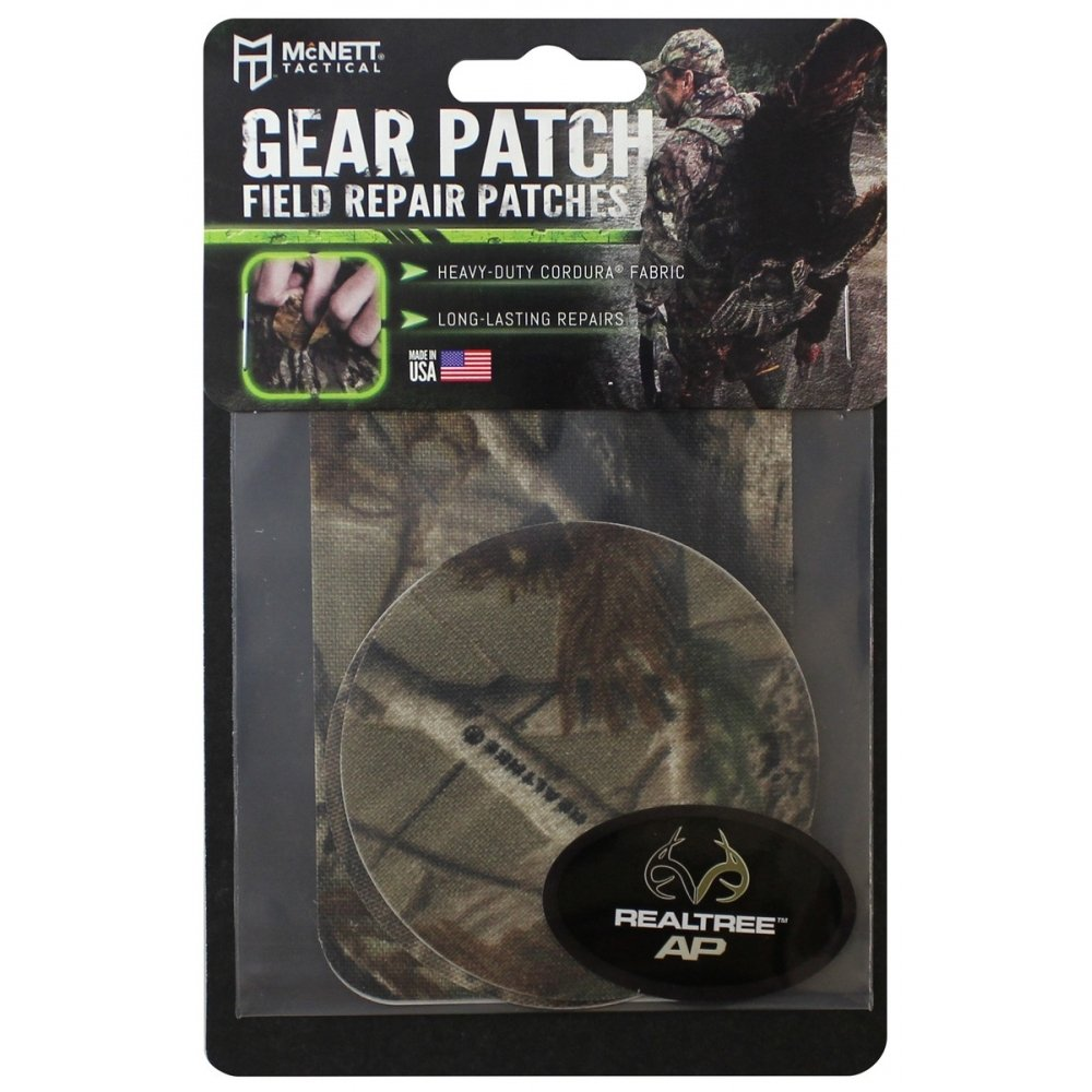 Real Tree AP Flexible Camouflage Gear Repair Patch