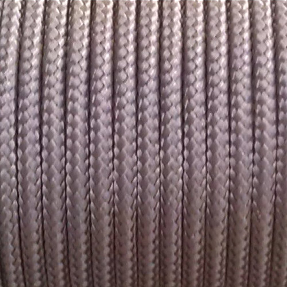 Sleeved Spectra Kevlar Cord - Black 50ft 325lbs Strength