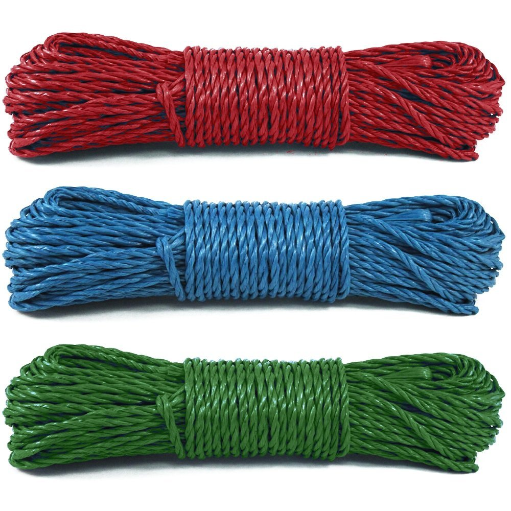 100 Foot Multi-Purpose Water Resistant Utility Rope Cord