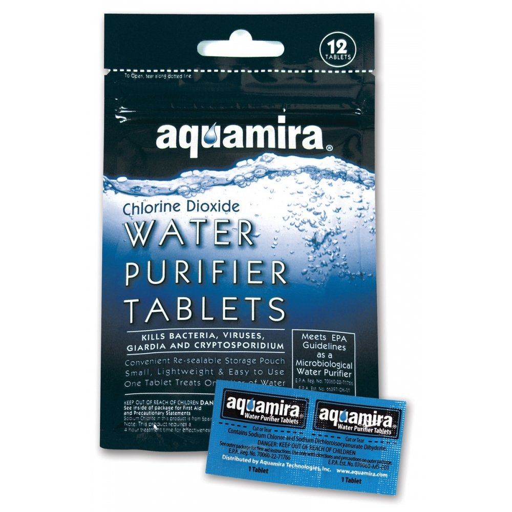 12pc Aquamira Water Purifier Tablets