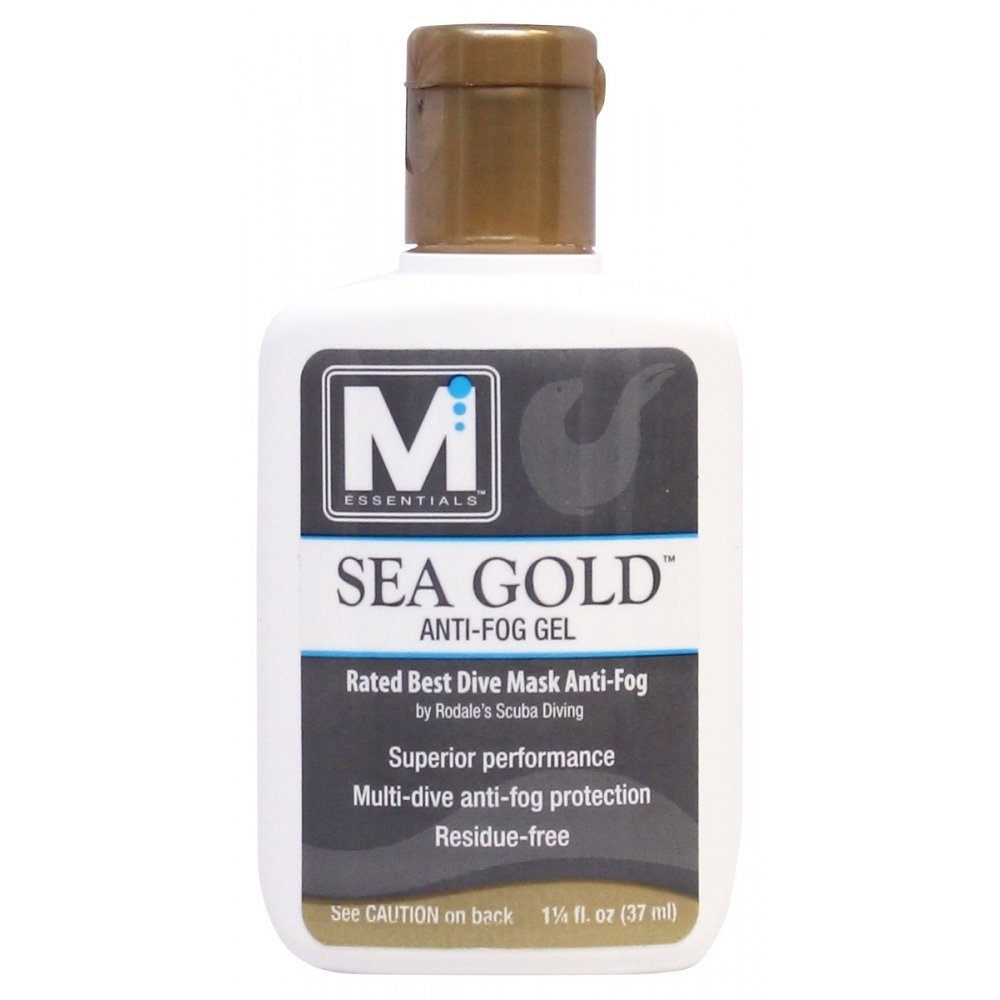 McNett M Essentials Sea Gold Anti-Fog & Lens Cleaning Solution - 1-1/4 oz