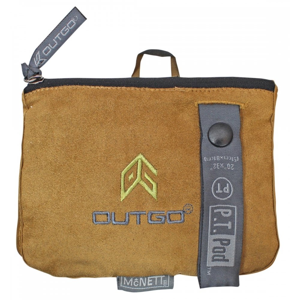 McNett PT Pod Microfiber Compact Work Out Towel (Mocha)