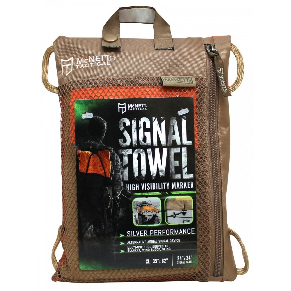 "McNett Tactical Signal Towel - 35"" x 62"""