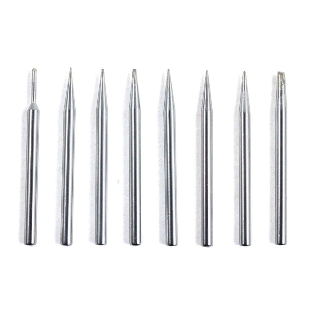 8pc Assorted Soldering Iron Tip Set