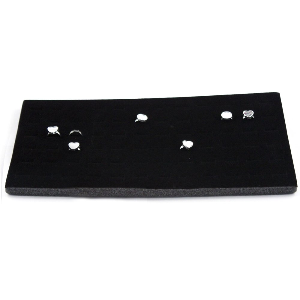 "72 Slot Ring Holder Foam Insert Fits 14"" Trays"