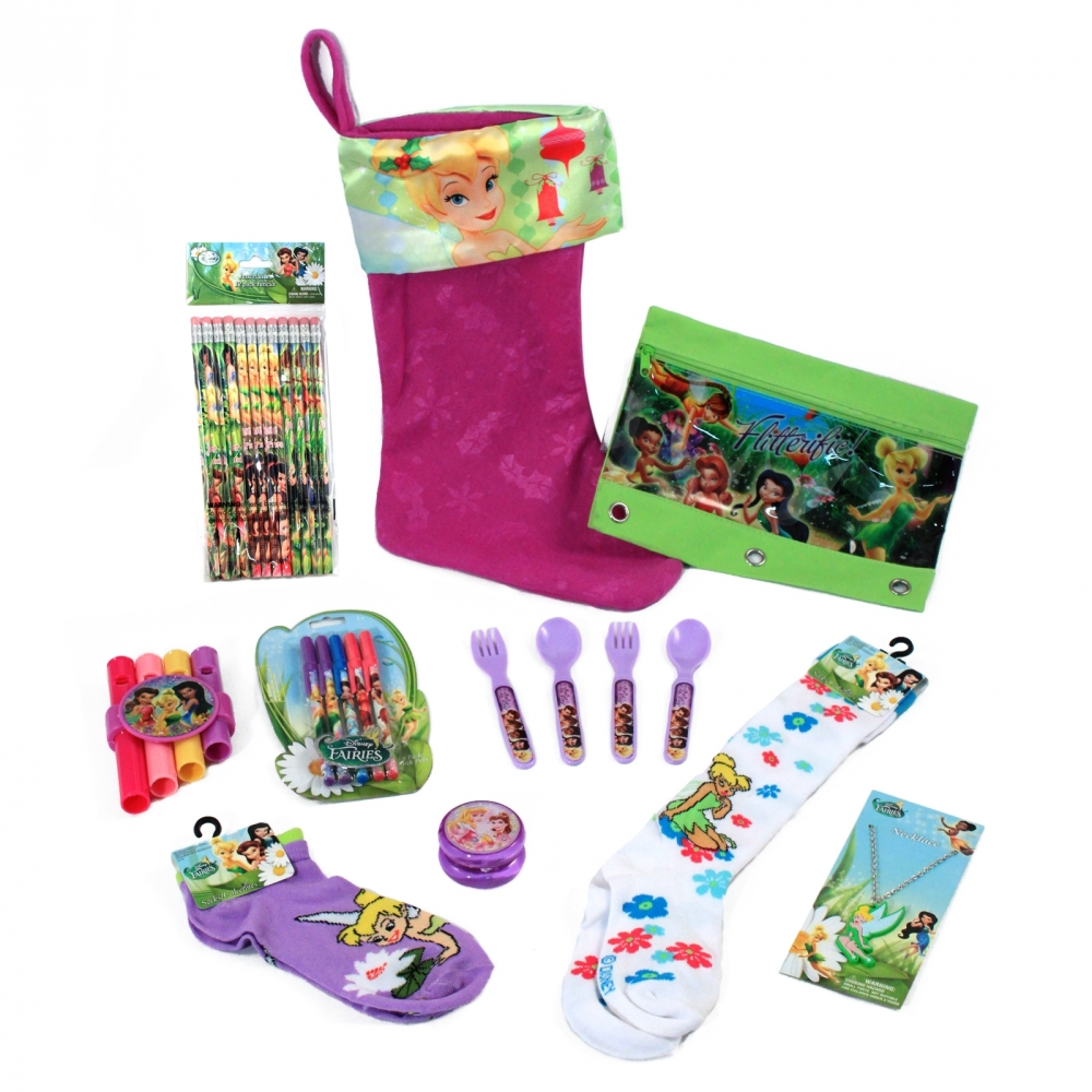 Disney Tinkerbell Girls Christmas Stocking Stuffer Bundle (27 Piece) at Sears.com