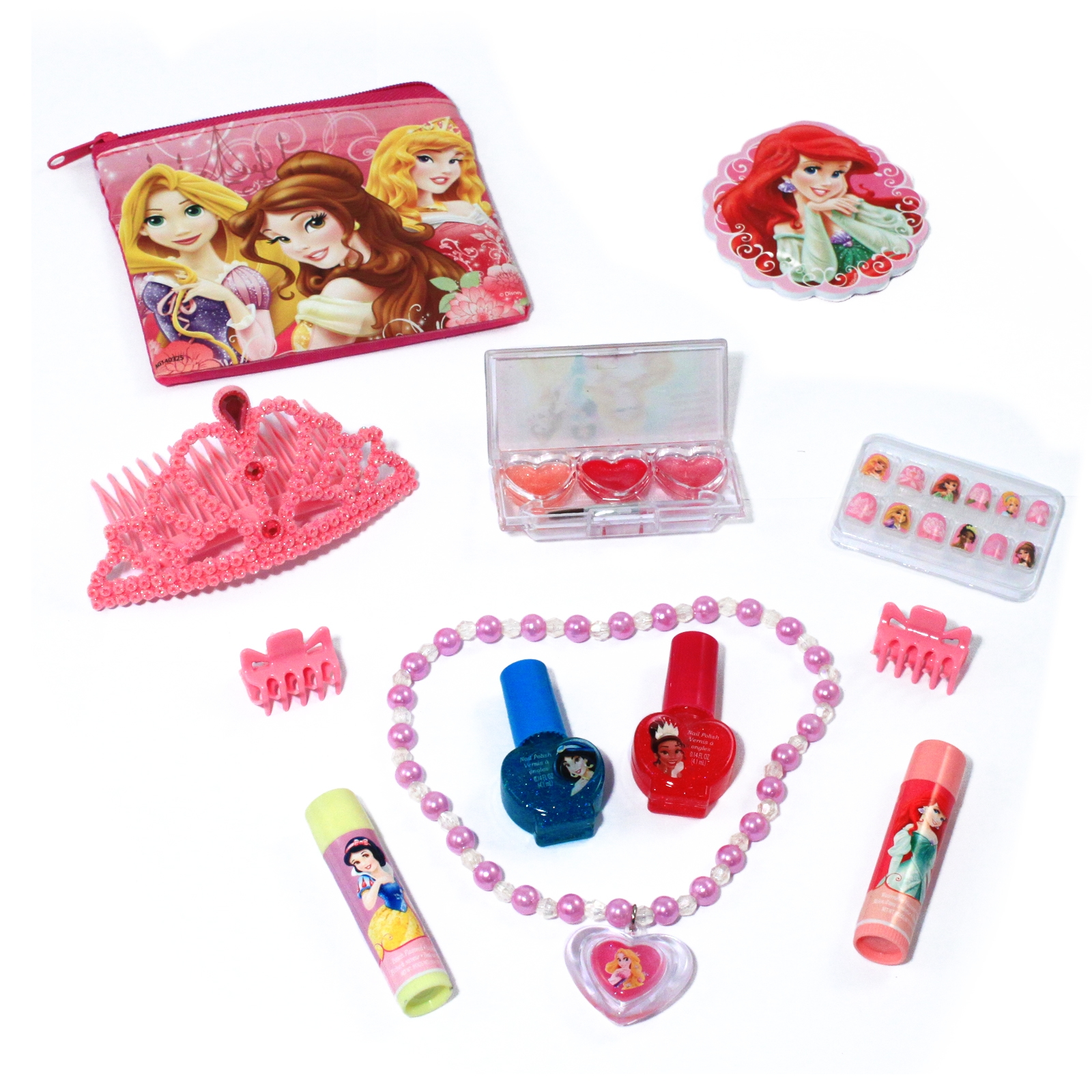 Disney Princess Girls Cosmetics Dress-up Accessories Set (12 Piece) at Sears.com