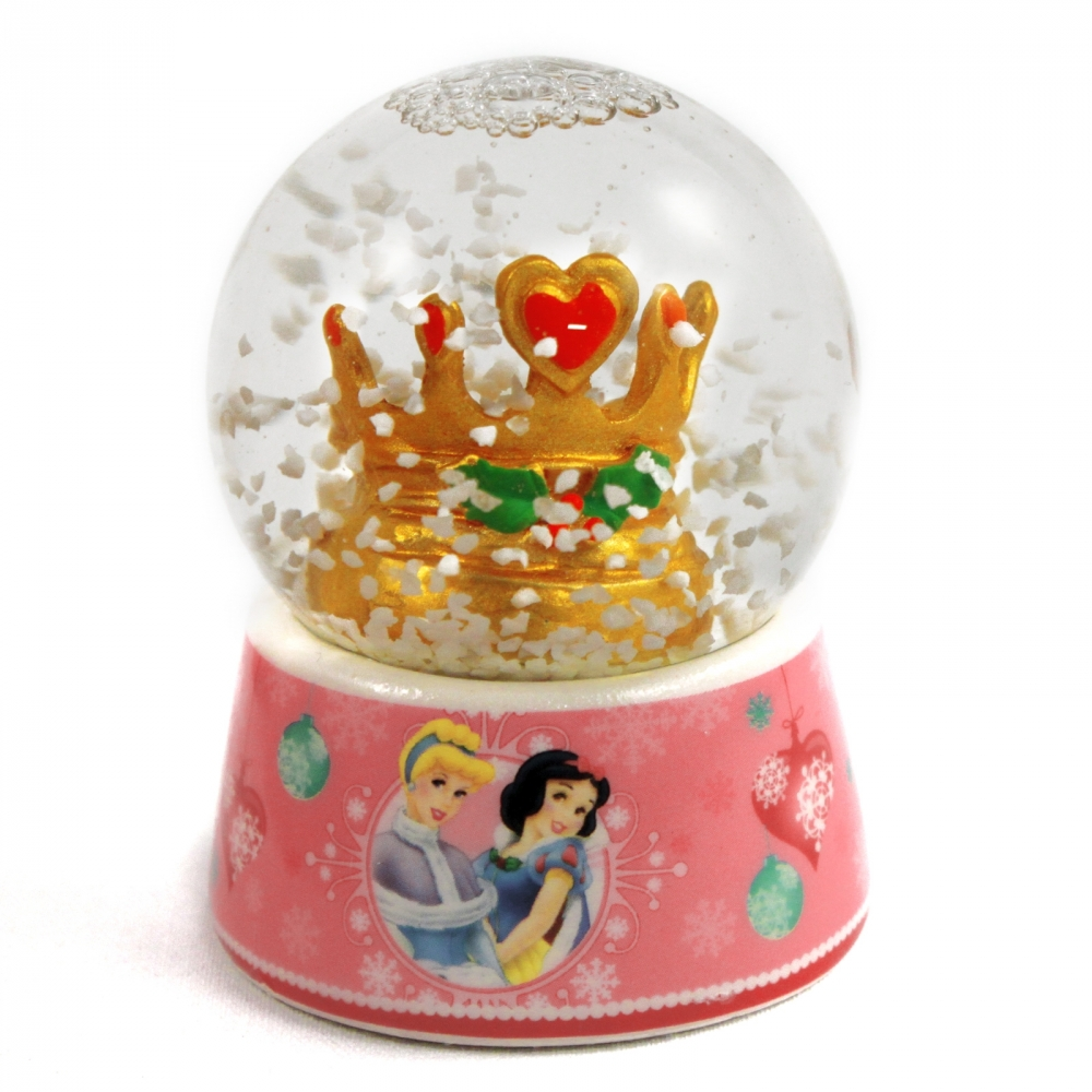 Disney Princess Christmas Home Decor Glass Snow Globe at Sears.com