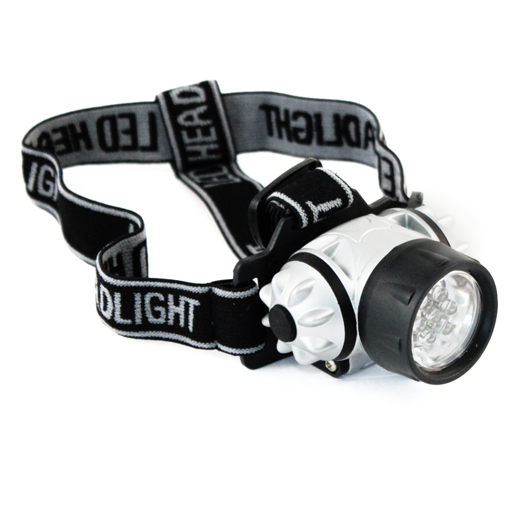 (2-Pack) ASR Outdoor 7 LED Super Bright Adjustable Headlamp