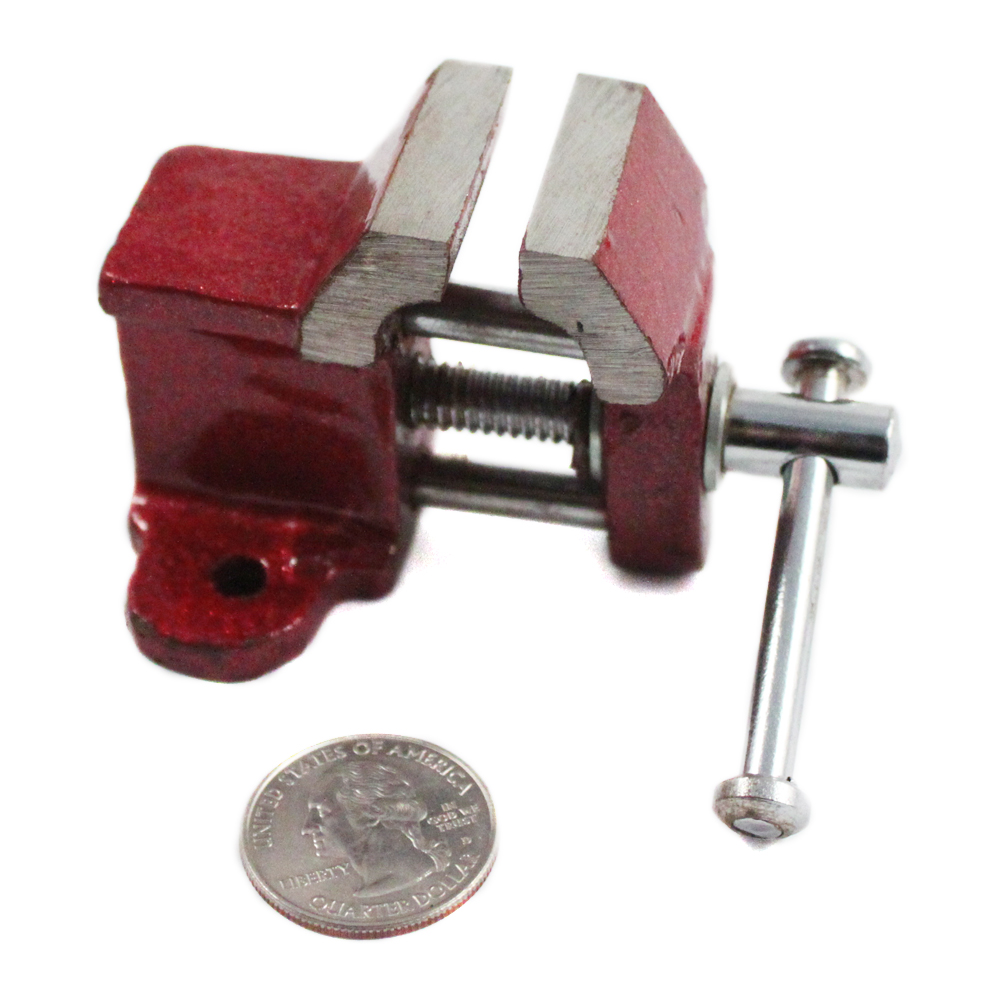 "1"" Jaw Fixed Desk Mini Steel Vise"