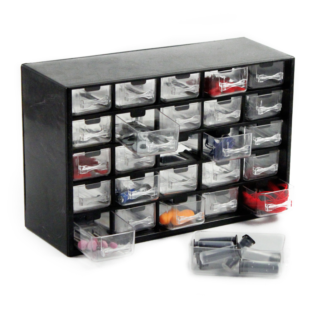 25 Drawer Organizer Storage Box