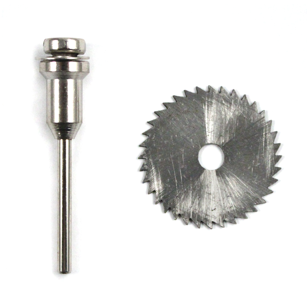 2pc High Speed Steel Saw Blade & Mandrel