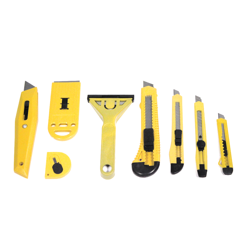 8pc Assorted Blades Utility Cutter Set