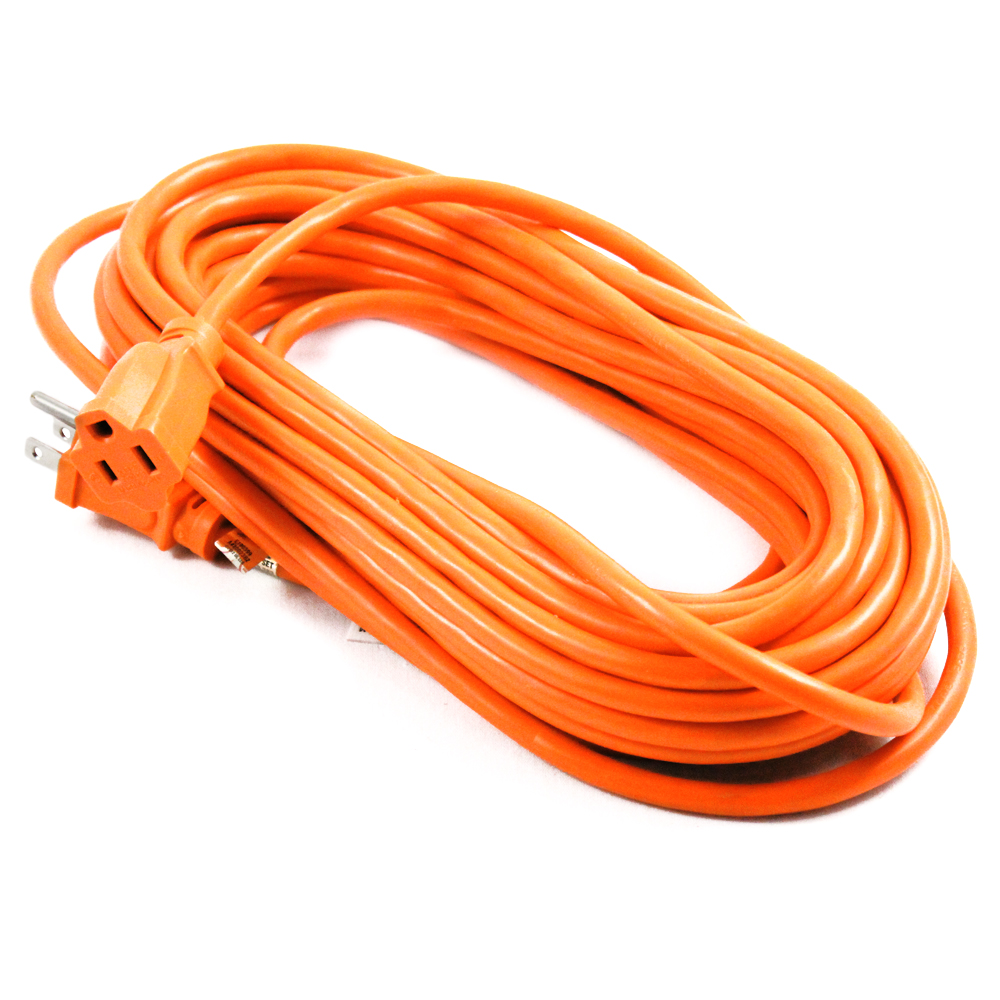50ft Indoor Outdoor Grounded Extension Cord