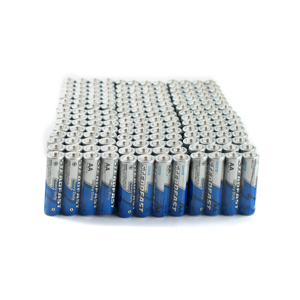 180pk Bulk Heavy Duty AA Batteries
