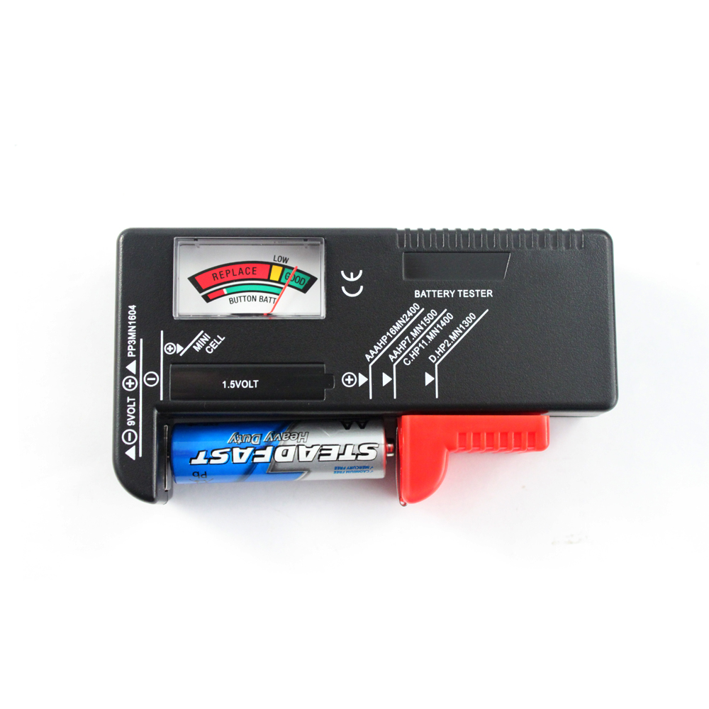 9 Volt Battery Tester : Battery tester on shoppinder