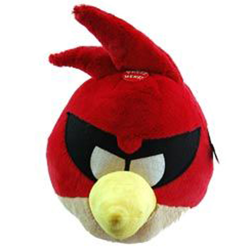 "Angry Birds Space Giant 12"" Stuffed Plush (Red Bird)"