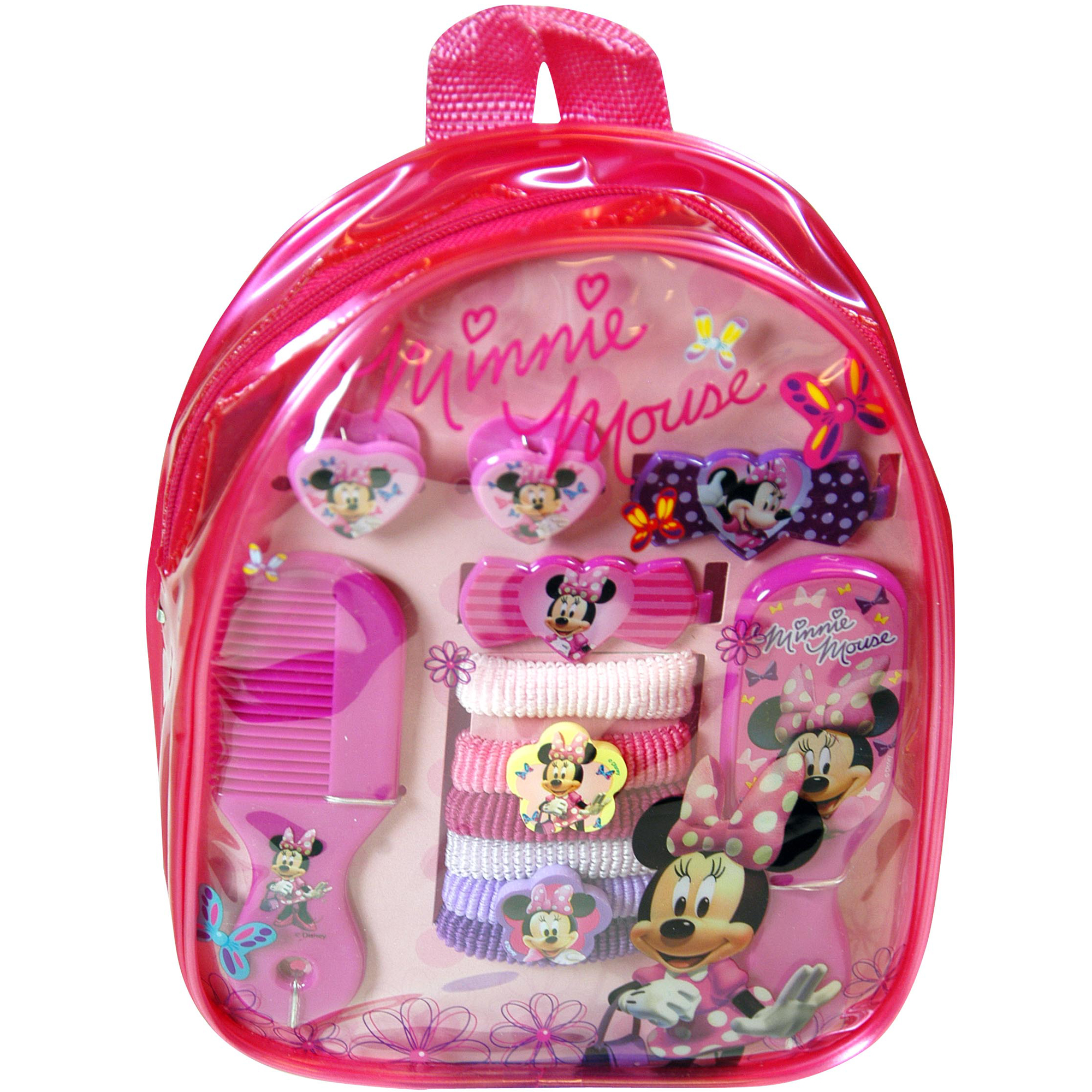 Disney 11pc Girls Minnie Mouse Hair Accessory Backpack at Sears.com