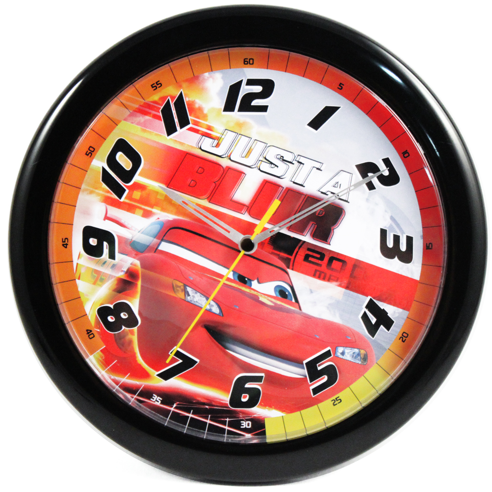 "Cars Lightning McQueen 10"" Wall Clock"