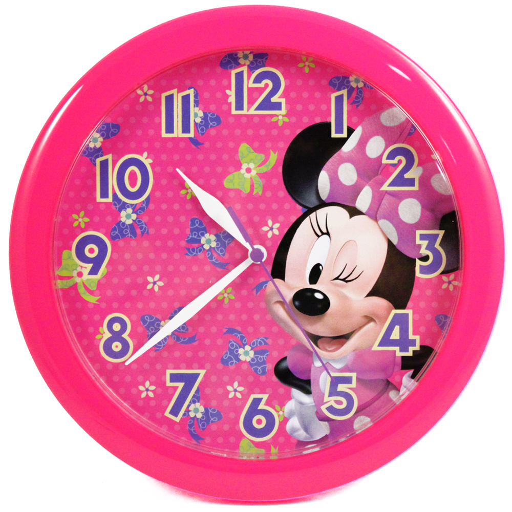 "Minnie Mouse 10"" Wall Clock"