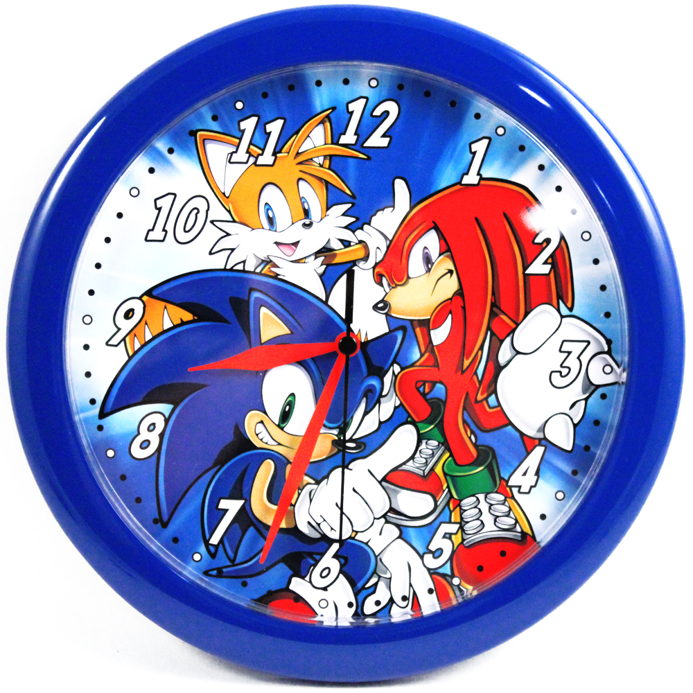 "Sonic the Hedgehog 10"" Wall Clock"