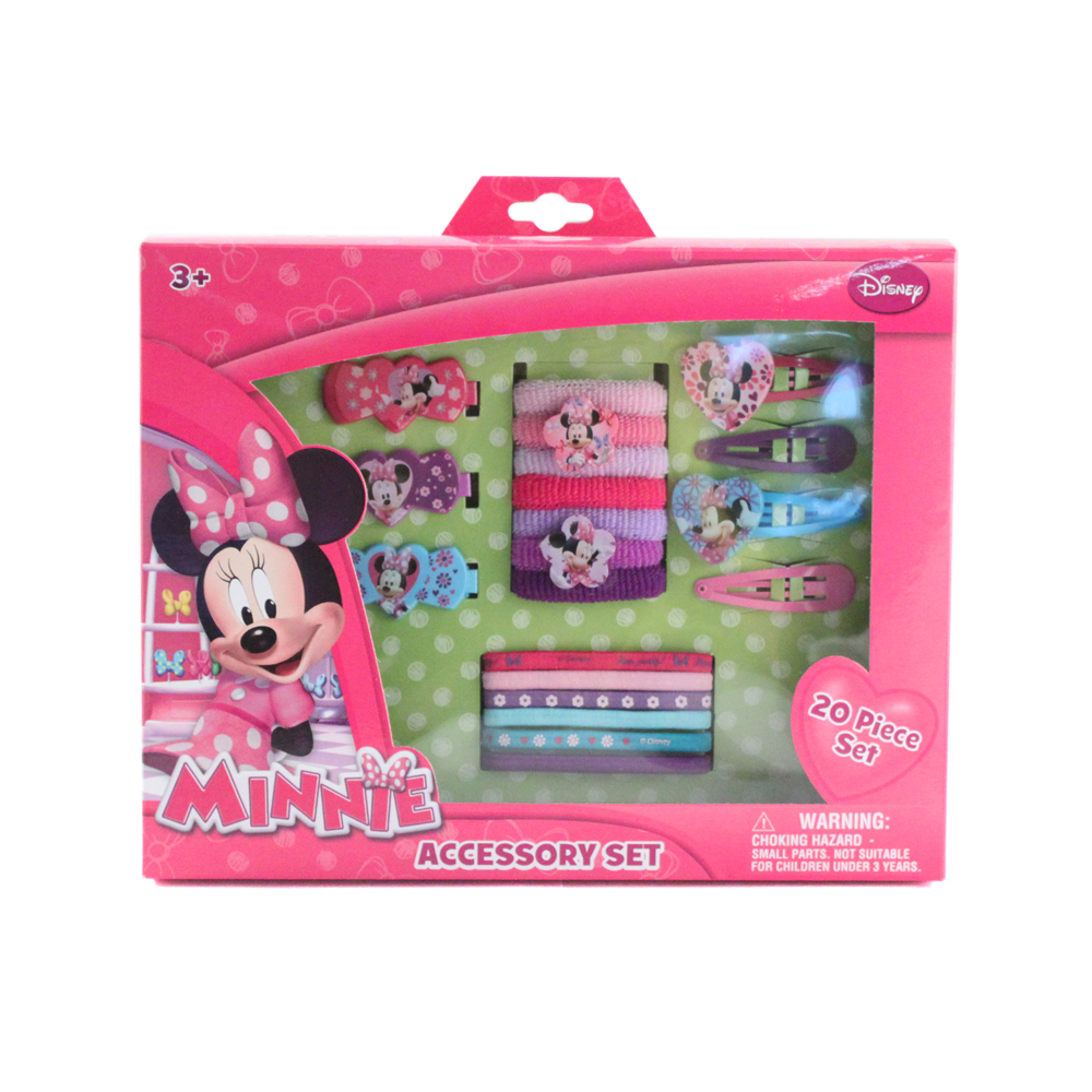 Disney 20 Piece Disney Minnie Mouse Girls Hair Accessory Set at Sears.com