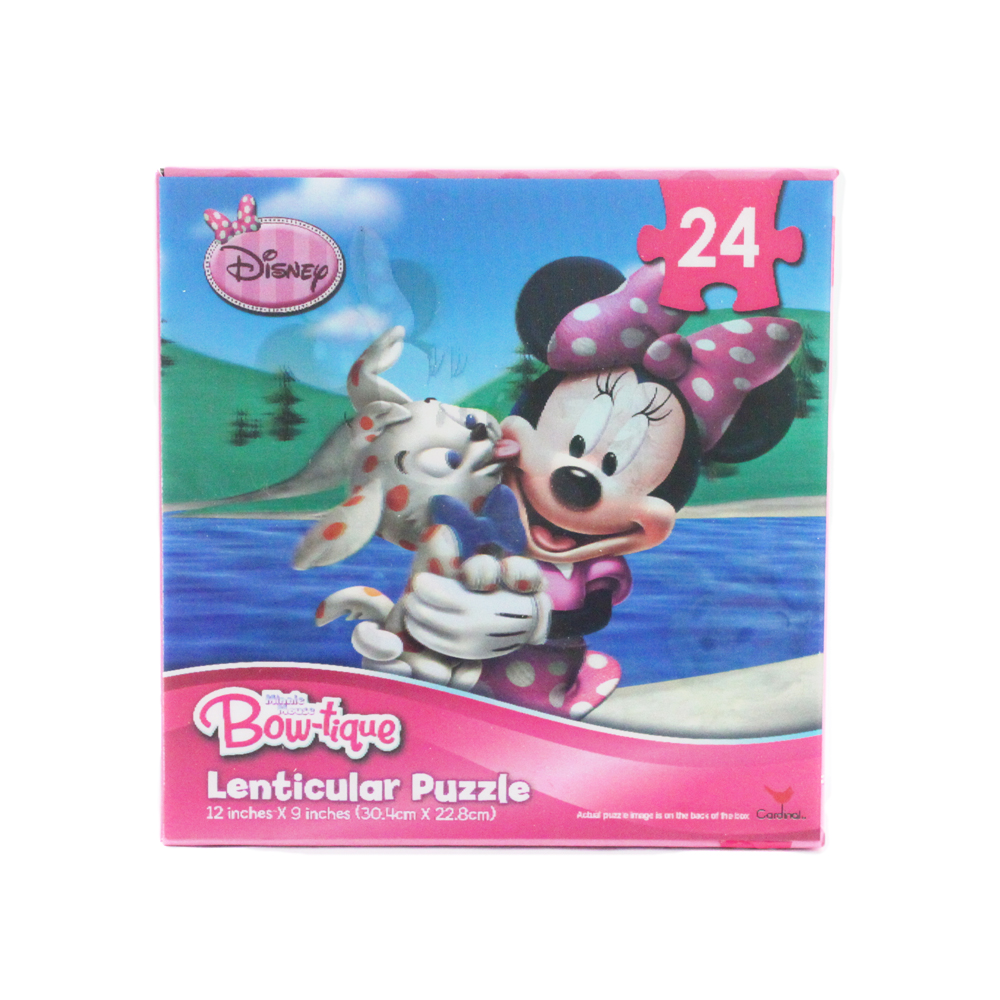 Disney 24pc Disney Minnie Mouse River Scene 3D Jigsaw Puzzle at Sears.com