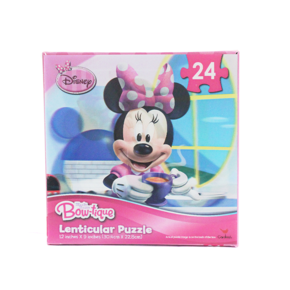 Disney 24pc Disney Minnie Mouse Bowtique Kitchen Scene 3D Jigsaw Puzzle at Sears.com