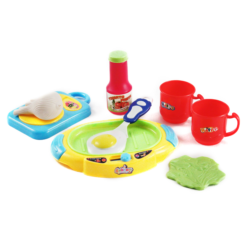 Toy Food And Dishes : Pc children s pretend play complete super kitchen set w