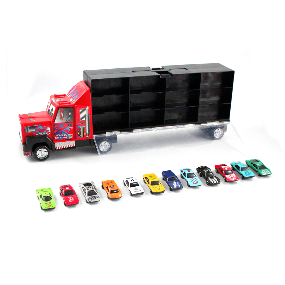 Toy Race Trucks : Toy car carrier truck bing images
