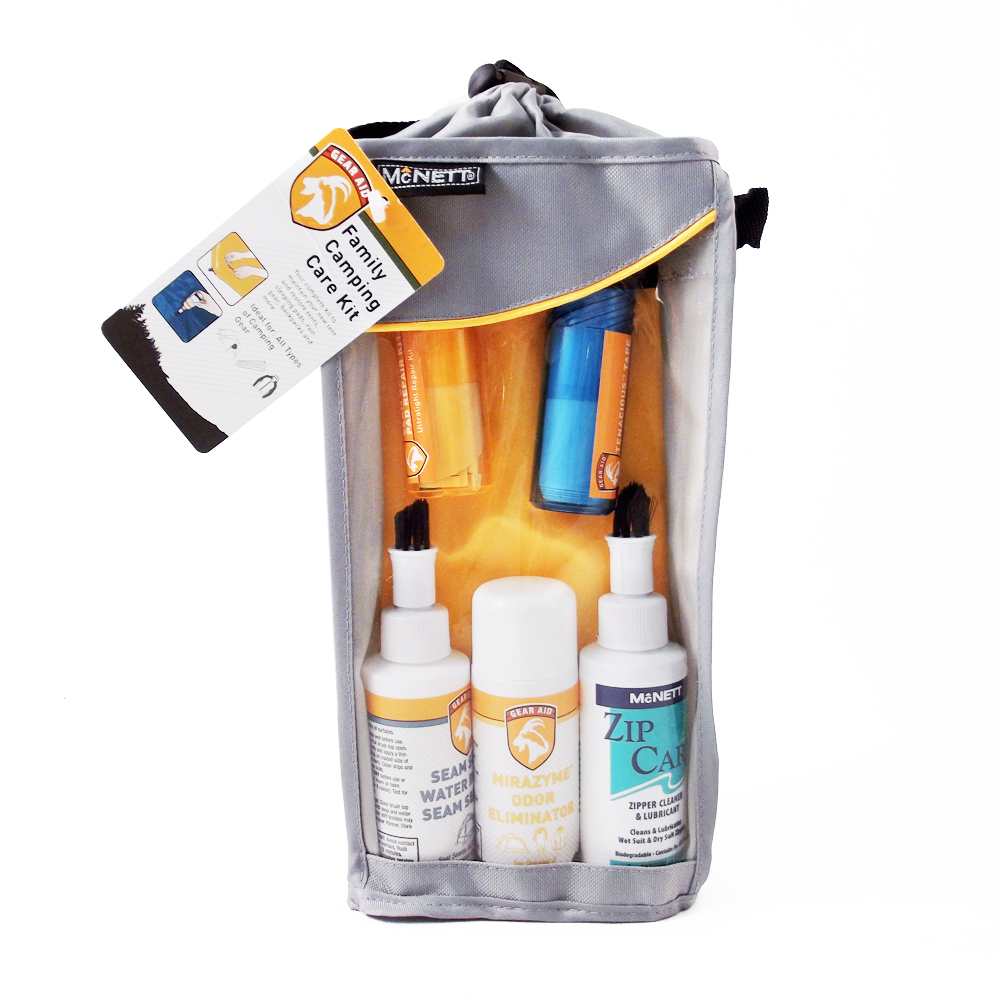 Family Camping Care Combo Kit - Hygiene and Repair