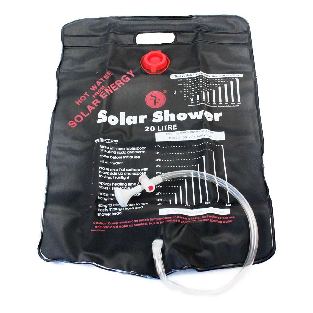 ASR Outdoor 5 Gallon Portable Solar Shower