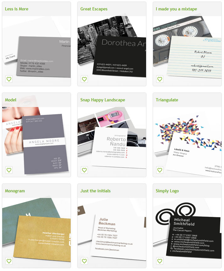 Moo deal 50 free business cards appbay startup deals you can either choose to use moos designs or use your own check em out here reheart Image collections