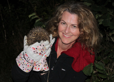 dawn-scott-earthwatch-research-hedgehog