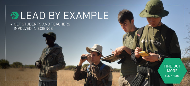 Lead by Example +Get Students and Teachers Involved in Science