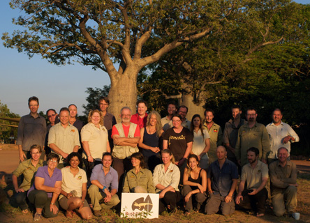 The Team on the Bush Blitz Kimberley Expedition. Copyright: Bruce Paton.