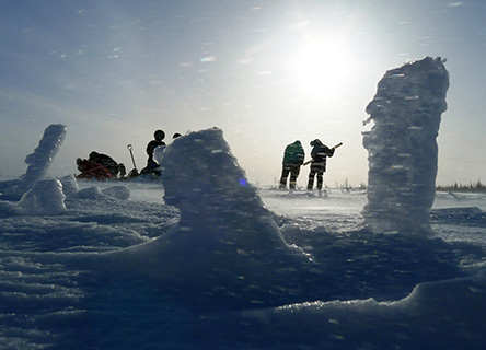 arctic-ice-research-snow