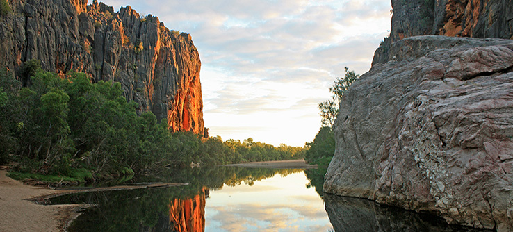 River and gorge, The Kimberley, Australia