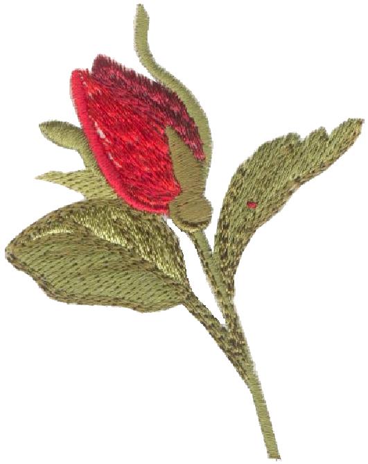 Rosebud hd rl embroidery design by anita goodesign