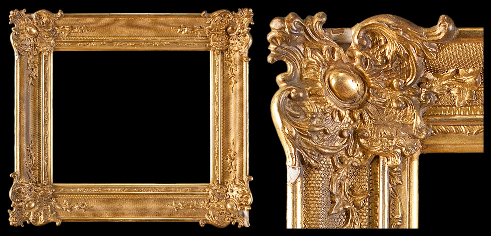 Hudson River School / Early American Federal Frame with Applied Netting